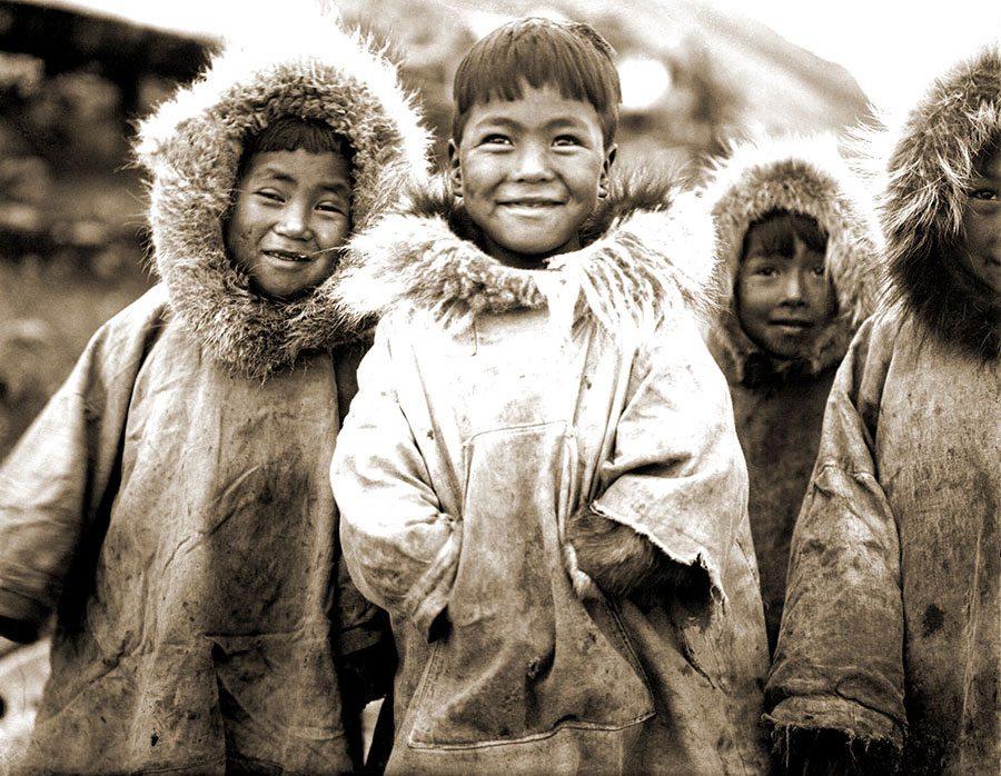 Little Diomede. Harold McCracken expedition photo exhibition. N230#I1373V