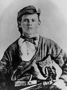 Jesse James at 16. Vincent Mercaldo Collection. P.71.2167