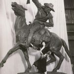 Points West Online: Cody's Fairy Godmother: Gertrude Vanderbilt Whitney and her memorial sculpture, Buffalo Bill—The Scout