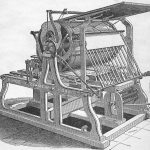 Hoe press. Library of Congress image.