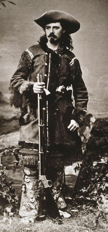 "William F. ""Buffalo Bill"" Cody. MS 71 Vincent Mercaldo Collection, McCracken Research Library. P.71.14.2"
