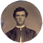 """Pre-""""Buffalo Bill,"""" a young William F. Cody, pictured here ca. 1862, worked for the notorious Joseph A. """"Jack"""" Slade. P.69.2078"""