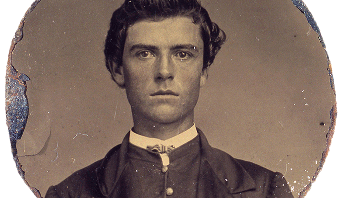"Pre-""Buffalo Bill,"" a young William F. Cody, pictured here ca. 1862, worked for the notorious Joseph A. ""Jack"" Slade. P.69.2078"