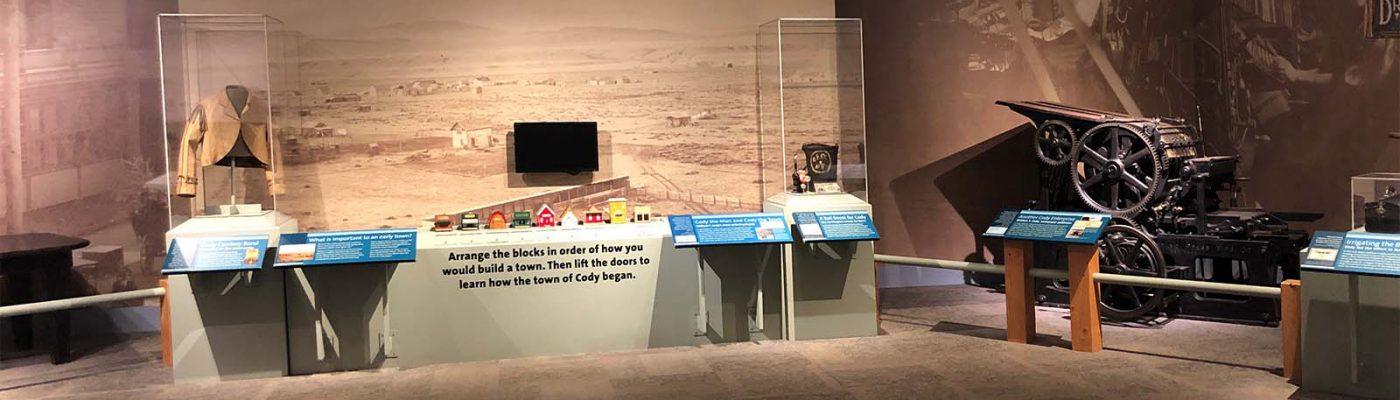 Printing press area, Buffalo Bill Museum