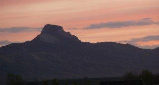Heart Mountain Evening