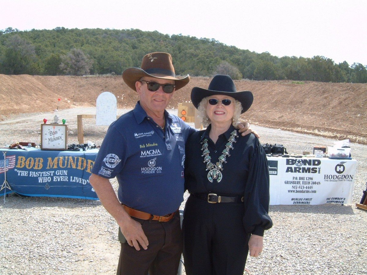 Bob and Becky Munden End of Trail 2005