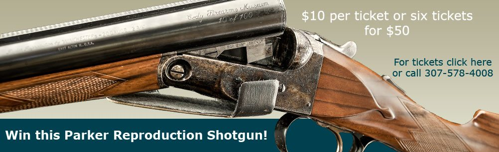 Parker Reproduction Shotgun raffle image