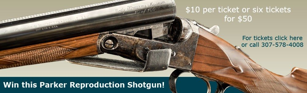 Win this Parker Reproduction Shotgun by Winchester