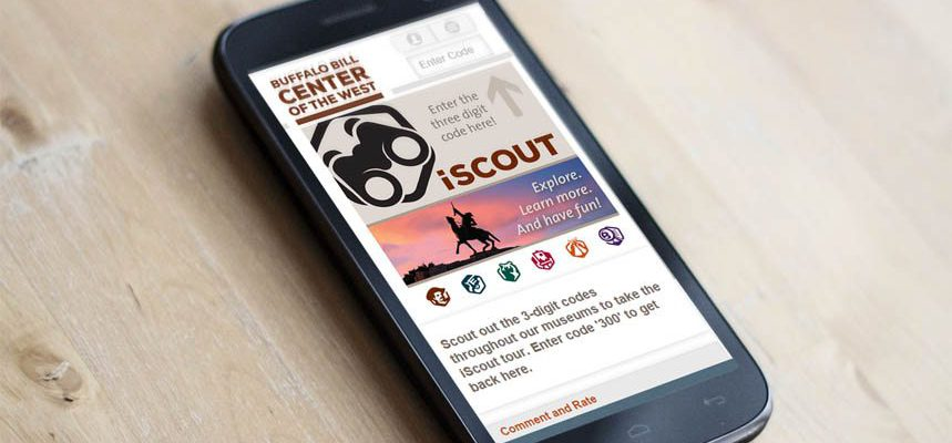 iScout on a smartphone