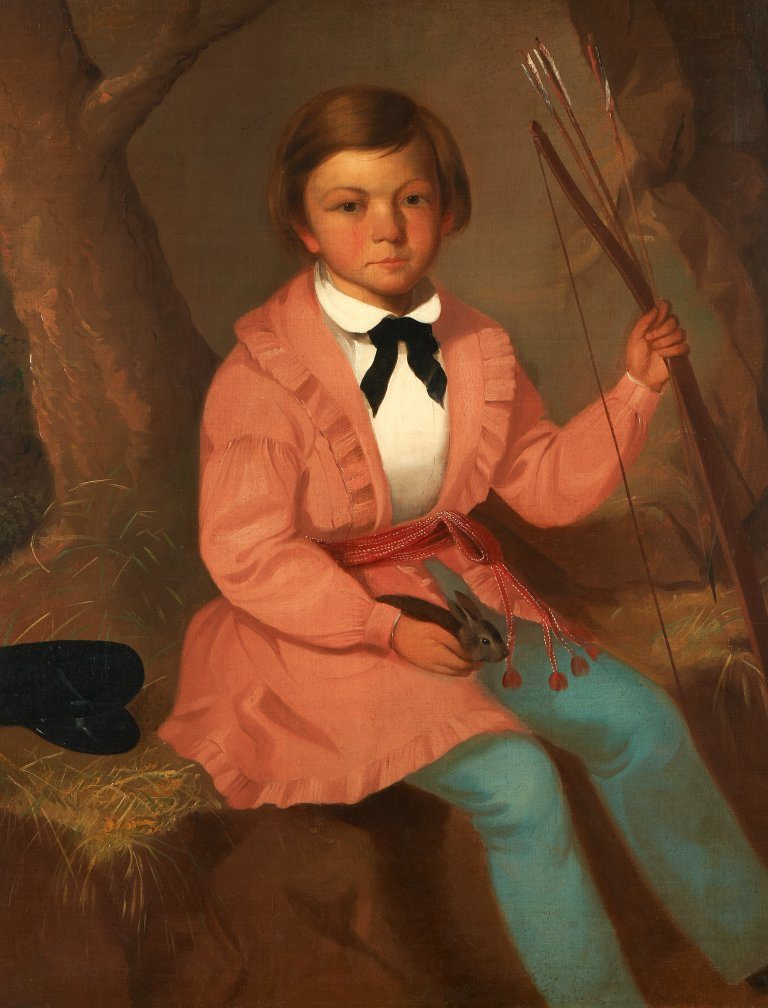 Figure 4. John Mix Stanley. Lewis Anderson Ross, 1844. Oil on canvas. Gilcrease Museum, Tulsa, Oklahoma.