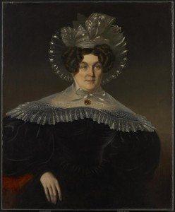 Figure 1. James Bowman (1793–1842). Mrs. Livius Peters Sherwood, 1834. Oil on canvas. Art Gallery of Ontario.