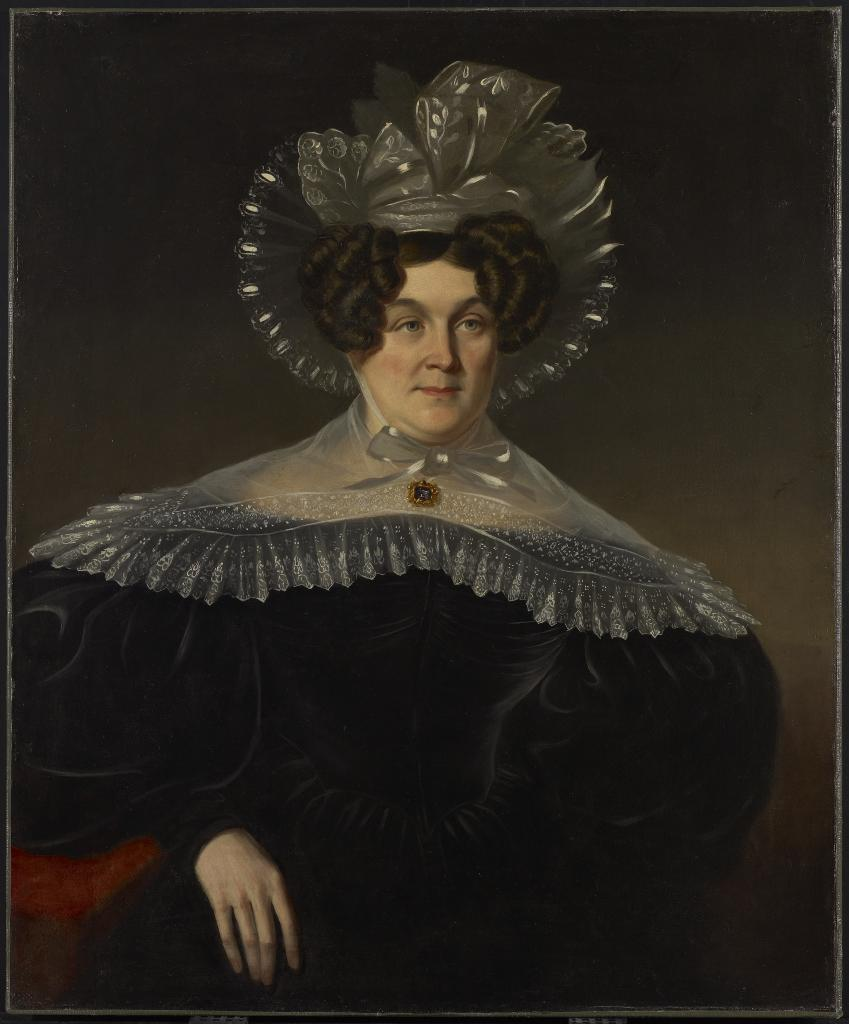 Figure 1. James Bowman (1793-1842). Mrs. Livius Peters Sherwood, 1834. Oil on canvas. Art Gallery of Ontario.