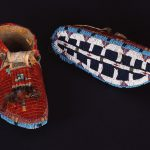 Treasures from Our West: Lakota moccasins