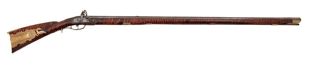 A Treasure from Our West: Kentucky flintlock long rifle. 1988.8.876