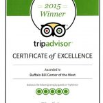 Buffalo Bill Center of the West wins TripAdvisor Certificate of Excellence for third consecutive year