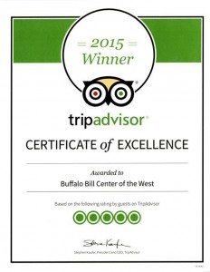 Buffalo Bill Center of the West is a Certificate of Excellence winner