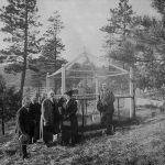 A Treasure from Our West: Photo of Buffalo Bill at Wild Bill Hickok's grave. P.69.1069
