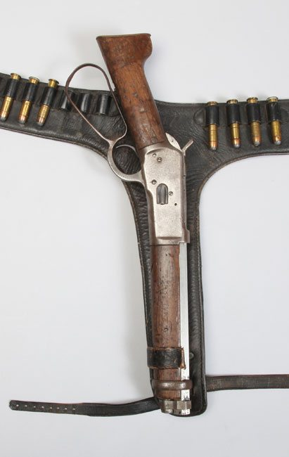 Credit - Autry National Center. Steve McQueen's Mairs Laig Carbine