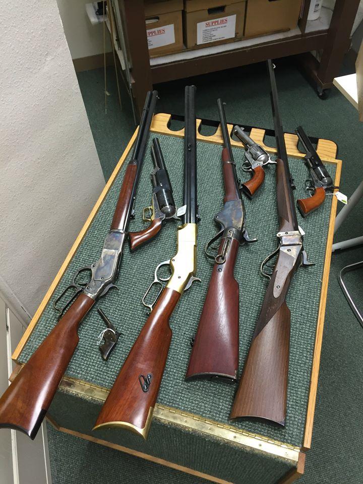 Educational Firearms Guns of the Old West - Buffalo Bill