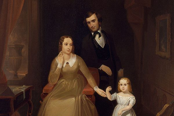 John Mix Stanley (1814 – 1872). The Williamson Family, ca. 1842. Oil on canvas. The Metropolitan Museum of Art. Gift of George H. Danforth III, 1976. (1976.338) L.412.2015.1
