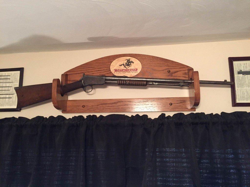 Winchester Model 1890, SN 576114, belongs to Ryan Hodges