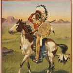 Four-color lithograph poster: Buffalo Bill Wild West show, 1903. Museum purchase. 1.69.2361
