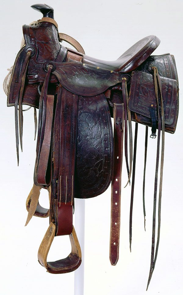 A Treasure from Our West: a saddle that belonged to Theodore Roosevelt. 1.69.2641