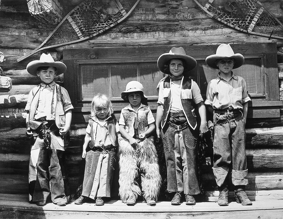 A Treasure from Our West: Kids at Valley Ranch. MS 14 Irving H. Larom Collection, McCracken Research Library. P.14.1