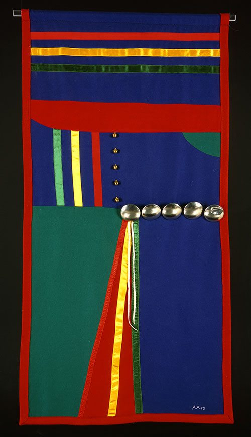 Arthur Amiotte (b. 1942). Banner, 1972. Museum Purchase. NA.302.102