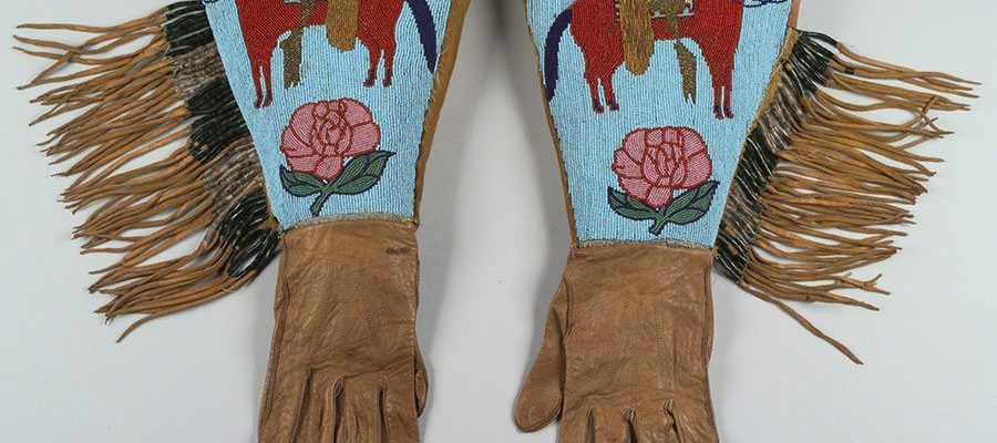 A Treasure from Our West: Buffalo Bill's gauntlets. 1.69.1049