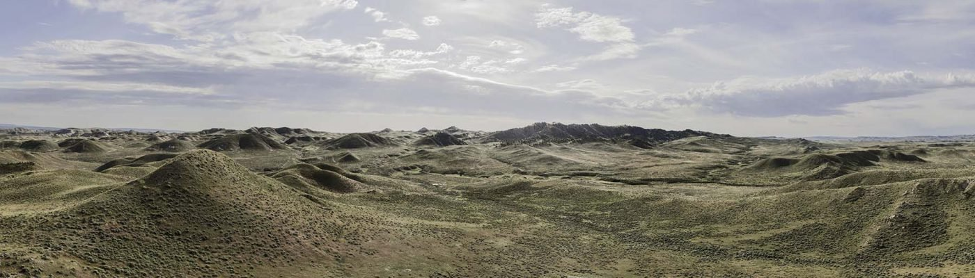 """William Sutton, View near Fales Rocks, Natrona County, June 21, 2014. From """"Grasslands"""""""