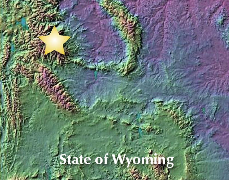 Wahb's territory covered the northwest part of Wyoming. He ranged as far as Cache Creek, south of Yellowstone's Lamar Valley to the Greybull River Valley southwest of Cody, Wyoming. The professors discovered Wahb's domain wasn't always easily accessible.