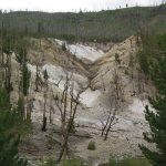View of Death Gulch from Cache Creek in Yellowstone National Park.