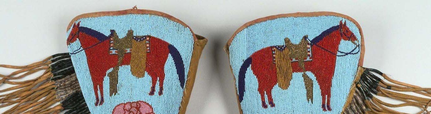 Buffalo Bill's gauntlets. 1.69.1049 (detail)