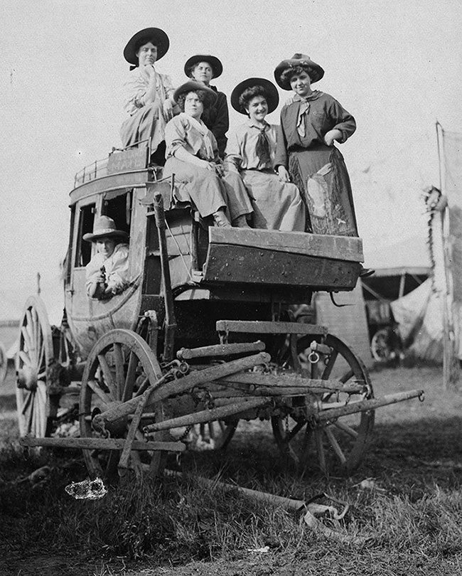 A Treasure from Our West: Wild West cowgirls. P.69.903