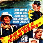 """Move poster for """"She Wore a Yellow Ribbon."""" Argosy Pictures, 1949."""
