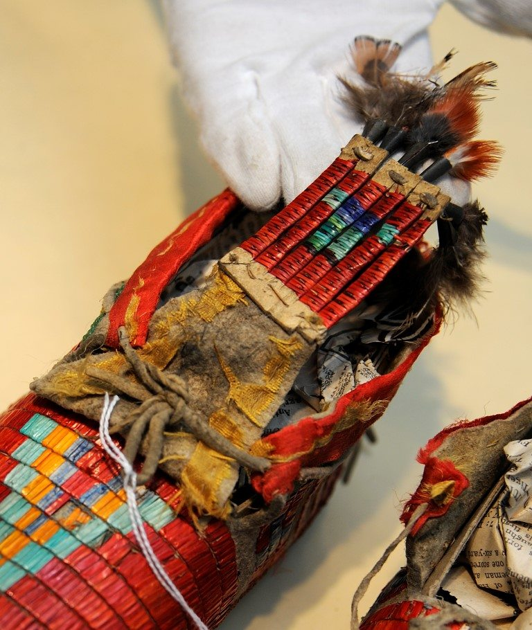 Moccasins from the Paul Dyck Plains Indian Buffalo Culture Collection