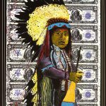 A Treasure from Our West: Stan Natchez (b. 1954). Money, ca. 1994. Mixed media. Gift of Janis and Wiley T. Buchanan III. 9.02