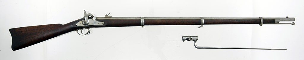 Special U.S. Model 1861 rifle-musket, made under contract by Colt's Patent Firearms Company. 1988.8.1534