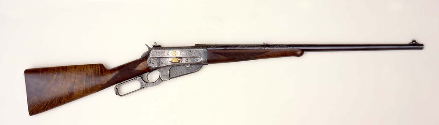 Zane Grey rifle, 1917. Donated in Loving Memory of Robert Jesse Moore by his family. 1991.1.1