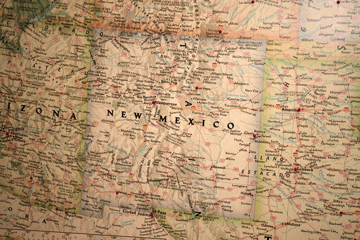 Buffalo Bills Wild West Visits Clovis New Mexico - Map of new mexico towns