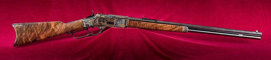 Centennial Rifle, full-length view