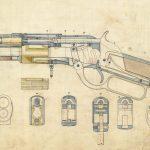 Firearms design drawing