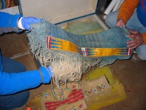 Leggings from the Paul Dyck Plains Indian Buffalo Culture Collection
