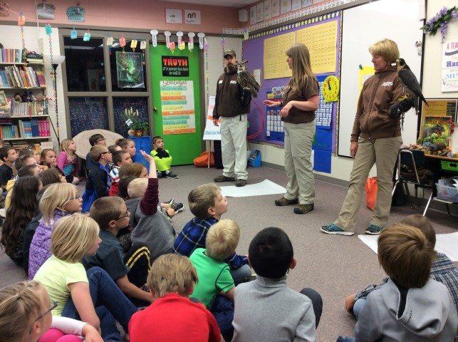 """""""Birds Are Dinosaurs"""" program at Livingston Elementary School"""