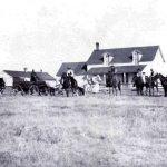 "N.C. Wyeth (1882 – 1945). ""Hashknife Ranch,"" October 1904. Photograph courtesy Colorado Historical Society. F26,282"