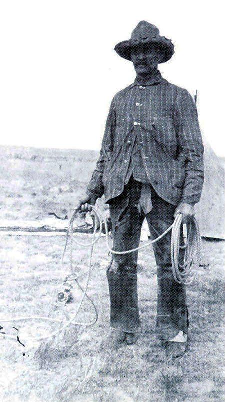 "N.C. Wyeth (1882-1945). ""Scotty Robinson,"" October 1904. Photograph courtesy Colorado Historical Society. F26,268"