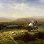 """A Treasure from Our West: """"Last of the Buffalo"""" by Albert Bierstadt. 2.60"""