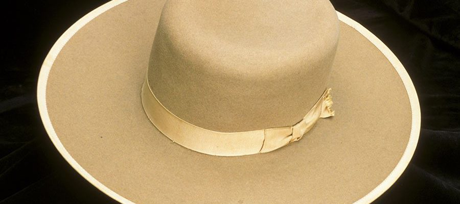 A Treasure from Our West: Orilla Hollister's Stetson hat. 1.69.648
