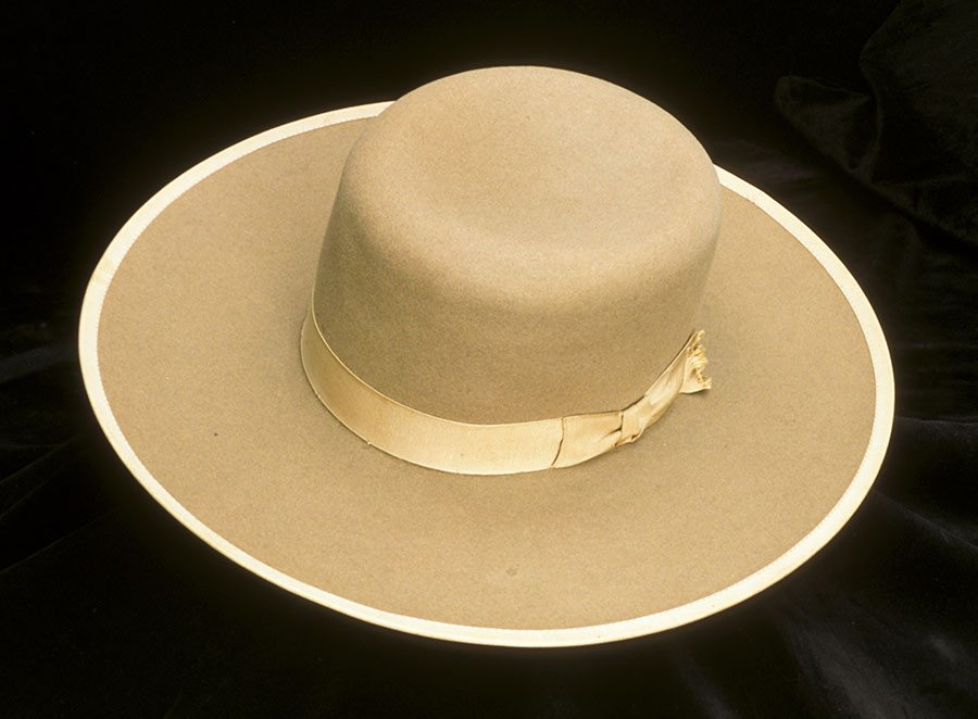 5cef41cfa6d23 A Treasure from Our West  Orilla Hollister s Stetson hat. 1.69.648